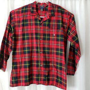 Polo Ralph Lauren Sleep Shirt Buffalo Plaid XL